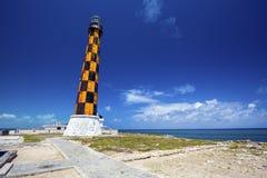 Faro Lighthouse, Cayo Paredon Grande in Cuba. Faro Lighthouse in Cayo Paredon Grande, Camaguey Province, Cuba stock photography