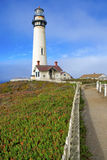 Faro a lo largo de Big Sur California Imagen de archivo libre de regalías
