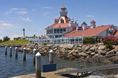 Faro Long Beach California de Parkers Imagen de archivo