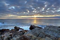 Faro in Maine Immagini Stock