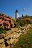 Faro Maine immagine stock libera da diritti
