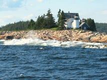 Faro in Maine U.S.A. Immagine Stock Libera da Diritti