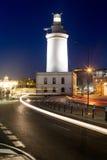 Faro a Malaga, Andalusia, Spagna immagine stock