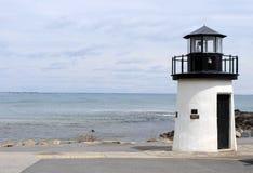 Faro, manera marginal, Ogunquit Maine los E.E.U.U. Imagen de archivo