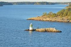 Faro in Mar Baltico immagine stock libera da diritti