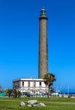 Faro, Maspalomas, Gran  Canaria. Lighthouse at Atlantic coast in Maspalomas, Gran Canaria Stock Photography
