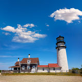 Faro Massachusetts Stati Uniti di Cape Cod Truro Fotografia Stock
