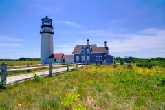 Faro Massachusetts Stati Uniti di Cape Cod Truro Immagine Stock
