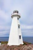 Faro moderno en la lanza Terranova del cabo fotos de archivo libres de regalías