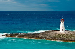Faro nei Caraibi Fotografia Stock