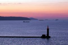 Faro nel Giappone Fotografia Stock Libera da Diritti