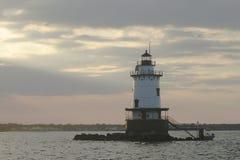 Faro nel Rhode Island Fotografia Stock