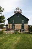Faro nella città del Michigan fotografie stock libere da diritti