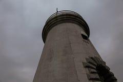 Faro nello scuro Fotografie Stock Libere da Diritti