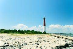 Faro New Jersey di Barnegat Fotografia Stock
