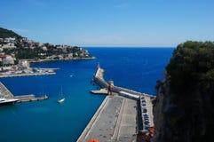 Faro, Niza, Francia imagen de archivo