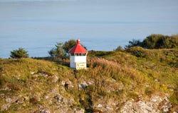 Faro in Norvegia Fotografia Stock Libera da Diritti
