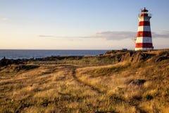 Faro - Nova Scotia - Canadá Fotografía de archivo libre de regalías
