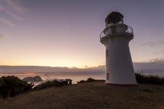 Faro Nueva Zelandia de Eastcape Fotos de archivo libres de regalías