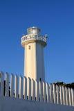 Faro nuevo en Puerto Morelos Riviera maya Foto de archivo libre de regalías