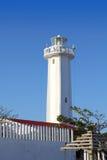 Faro nuevo en Puerto Morelos Riviera maya Foto de archivo