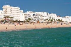 Faro. Oceaan stranden Royalty-vrije Stock Foto
