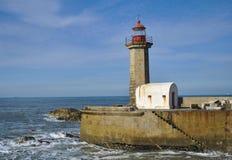 Faro a Oporto Fotografia Stock