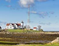 Faro orientale del punto Fotografie Stock