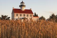Faro orientale del punto nel New Jersey fotografia stock libera da diritti