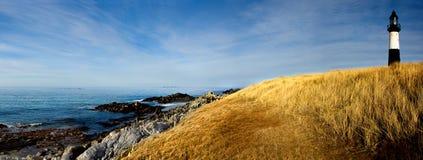 Faro panoramico fotografie stock