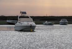 Faro Portogallo Marina At Sunset Immagine Stock Libera da Diritti