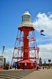 Faro portuario de Adelaide, sur de Australia Fotografía de archivo libre de regalías