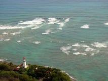 Faro principal del diamante en Honolulu, Hawaii Foto de archivo libre de regalías