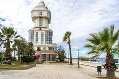 Faro Puerto Isla Cristina Fotografía de archivo libre de regalías