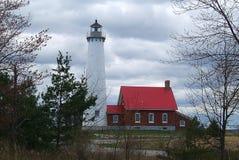 Faro - punta de Tawas, Michigan fotografía de archivo libre de regalías