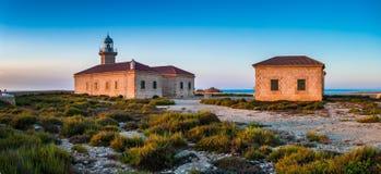 Faro Punta Nati, lighthouse Stock Images
