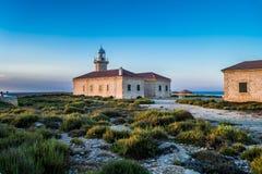 Faro Punta Nati, lighthouse Royalty Free Stock Image