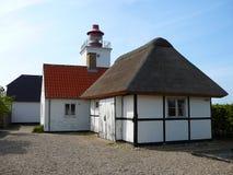 Faro, Røsnæs vicino alla città di Kalundborg immagine stock