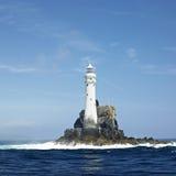 Faro, roca de Fastnet Imagenes de archivo