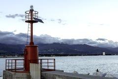 Faro rojo Foto de archivo