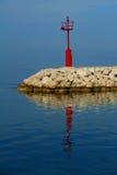 Faro rosso fotografia stock libera da diritti