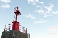 Faro rosso Immagine Stock