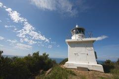 Faro rotondo del punto della collina, Tasmania, Australia Fotografia Stock