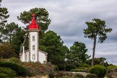 Faro Sainte-marino, Sainte-marino, Francia Fotografía de archivo libre de regalías