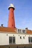 Faro Scheveningen, Paesi Bassi Immagine Stock