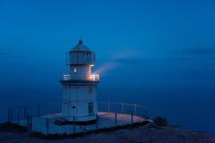 Faro sopra il mare Fotografia Stock Libera da Diritti