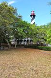 Faro St Augustine casero FL Imagenes de archivo