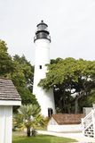Faro storico di Key West situato in Key West, Florida immagine stock