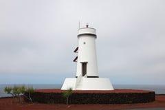 Faro sull'isola di Pico Immagine Stock Libera da Diritti