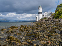 Faro sulla costa ovest della Scozia Fotografia Stock Libera da Diritti